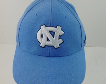 new arrivals 91380 c2c04 Nike North Carolina Tar Heels Hat Light Blue NC Logo Size 7 3 8 Fitted