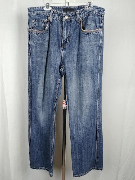 Alfani Jeans Straight Leg 100% Cotton Pants Mens Size 32x29