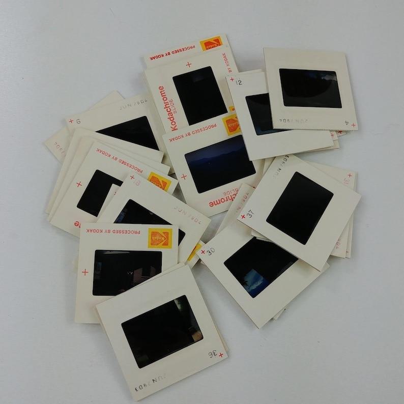 29 Amateur Kodachrome Kodak Slides 1979 Scenery Landscape Building - Lot #8