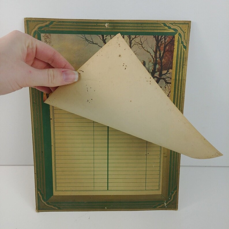Vintage Advertising Giveaway Promotion Telephone Index Wall Hanging