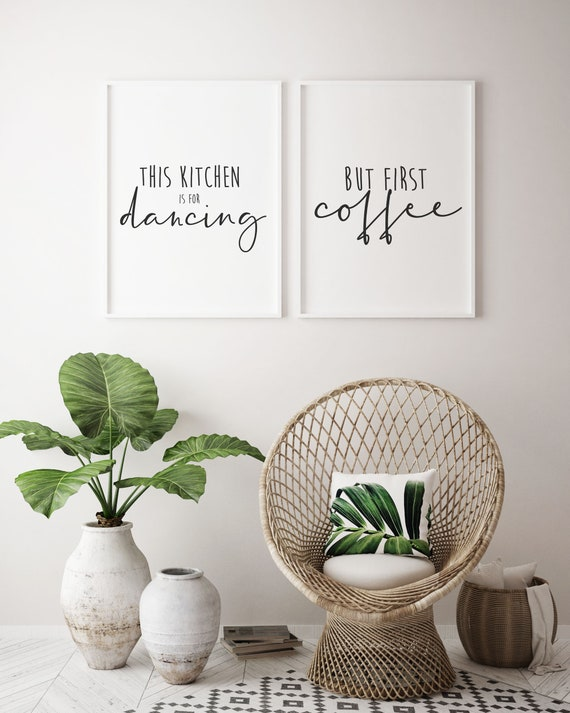 Print Duo Inspirational Quotes Home Decor Home Interiors Etsy