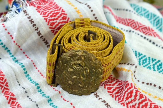 Men belt Men's belt Military belt Burning man belt