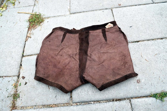 Women shorts Leather shorts Suede shorts Home sho… - image 4