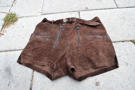 Women shorts Leather shorts Suede shorts Home shor