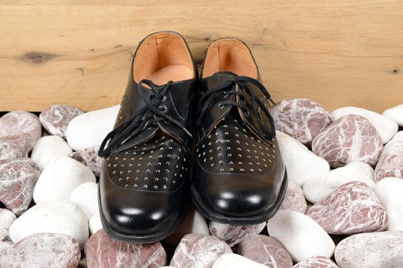 Oxford shoes men Leather shoes Men shoes Black le… - image 7