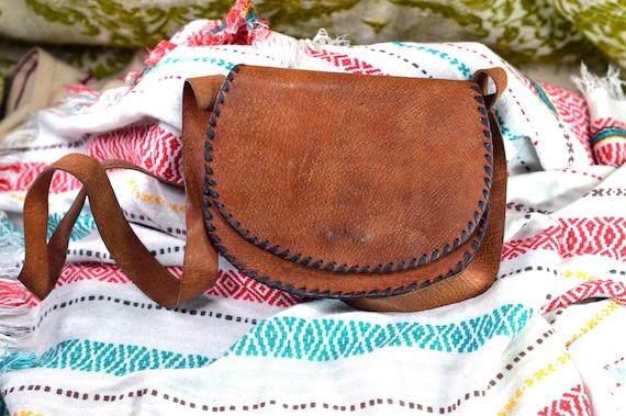 Shoulder purse Leather purse Leather shoulder bag