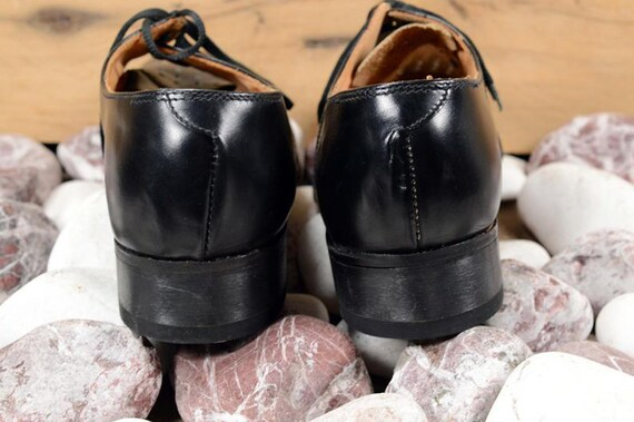 Oxford shoes men Leather shoes Men shoes Black le… - image 8