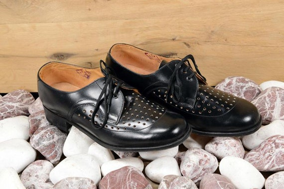 Oxford shoes men Leather shoes Men shoes Black le… - image 2