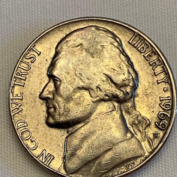 15/% off 5+ 1969 D Jefferson Nickel
