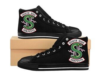 26f790cf2139 Southside Serpent WomenS HighTop Sneakers Riverdale Jughead Betty Veronica  Archie