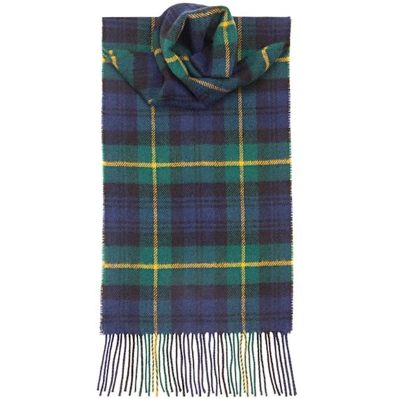 Lambswool Scottish Clan Scarf Elliot Modern Tartan
