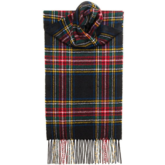 New Long Neck Fashion MacKay Modern Tartan Scarf Scottish Wool Clan Scarves