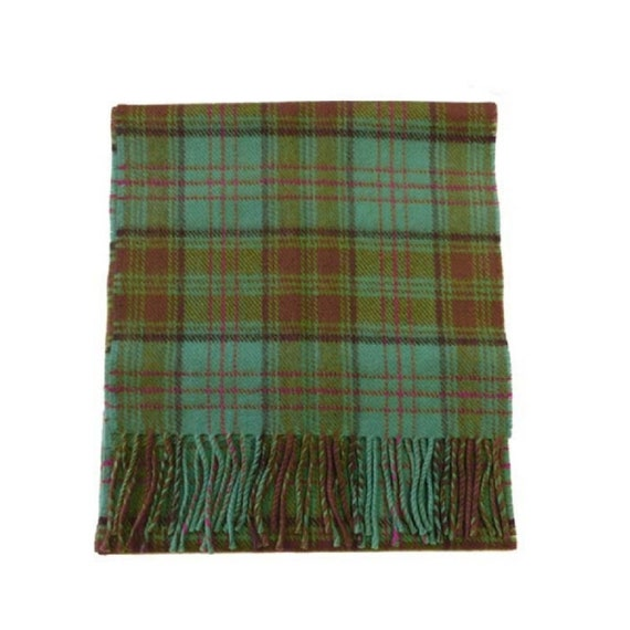 Ireland County Pure Wool Neck Tie in Irish County Kerry Tartan