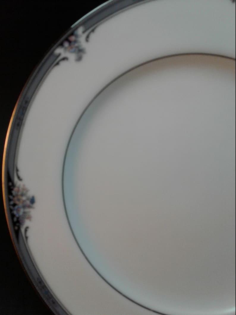 Elegant Dining Noritake Fine China 2 salad plates 1 Bread Butter plate Noritake Squirewood  3 pcs