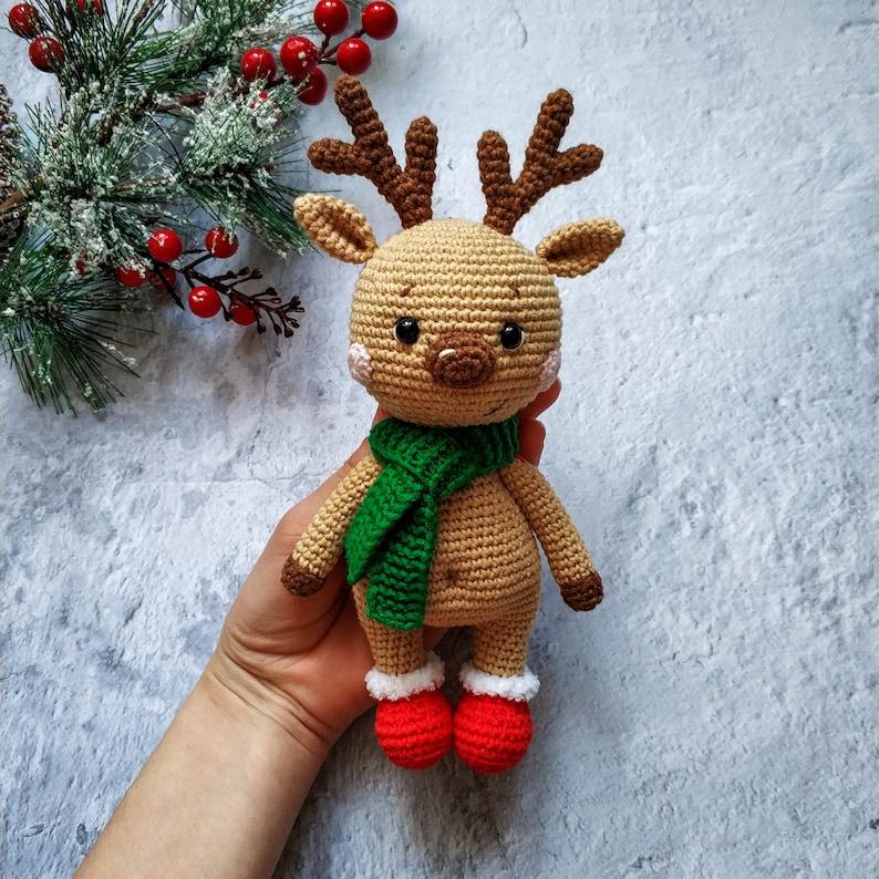 Crochet PATTERN little deer Crosh Amigurumi toy Amigurumi Pattern Crochet deer Handmade toy Pattern in English Pattern PDF Easter gift