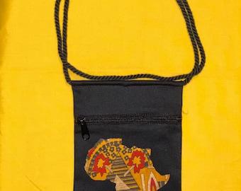 Cross body Africa 2 Black (CBA2B)