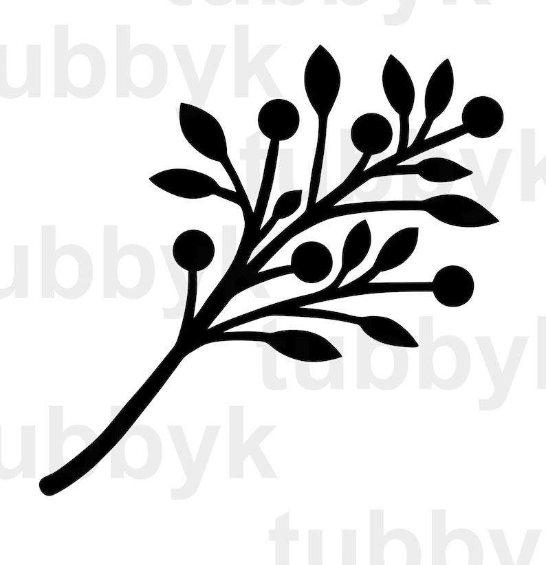 Digital Files Clip Art Cut Files Leaves Bundle Cricut Svg Bundle Branches svg Berries SVG SVG File Silhouette Branches Bundle SVG