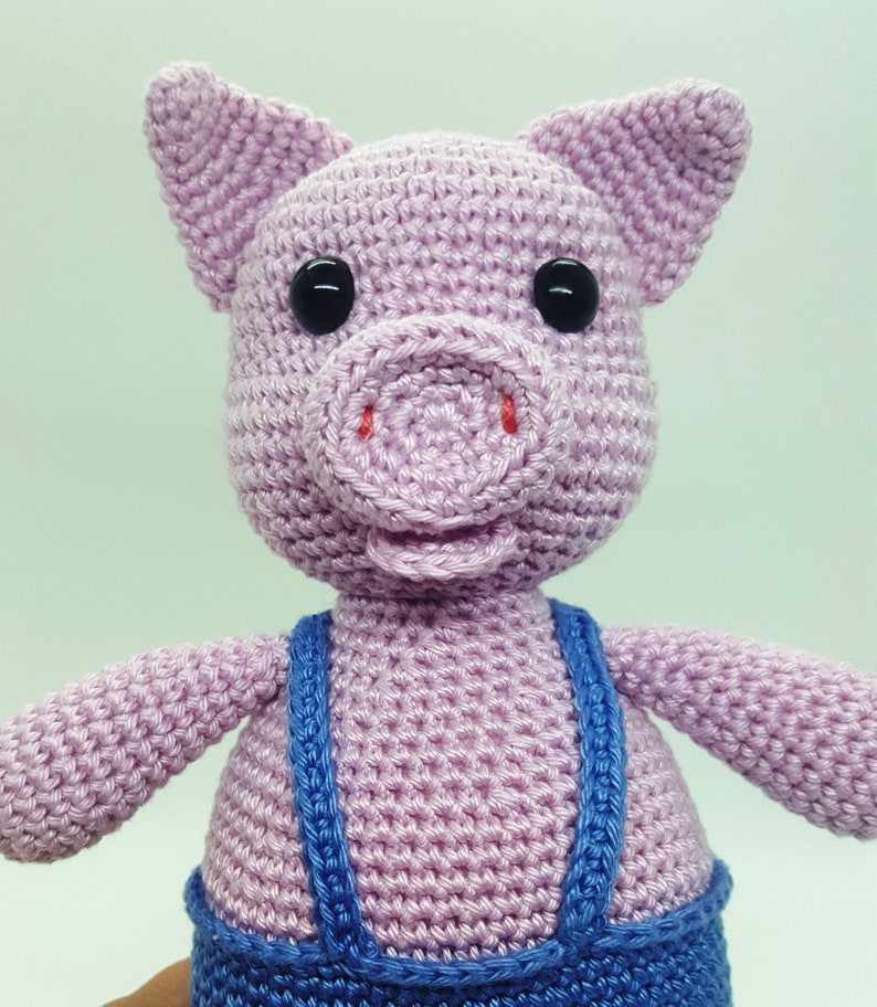 pig crochet Schweinchen crochet pattern H\u00e4kelanleitung Amigurumi Schwein geh\u00e4kelt