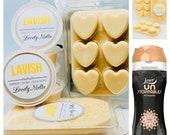 UNSTOPPABLES LAVISH Wax Melts, Lavish scent booster, Soy Wax Melts, Heart Clamshell Bar, Wax Pots, UK Wax Melts, Strong Wax Melts, Wax Bars