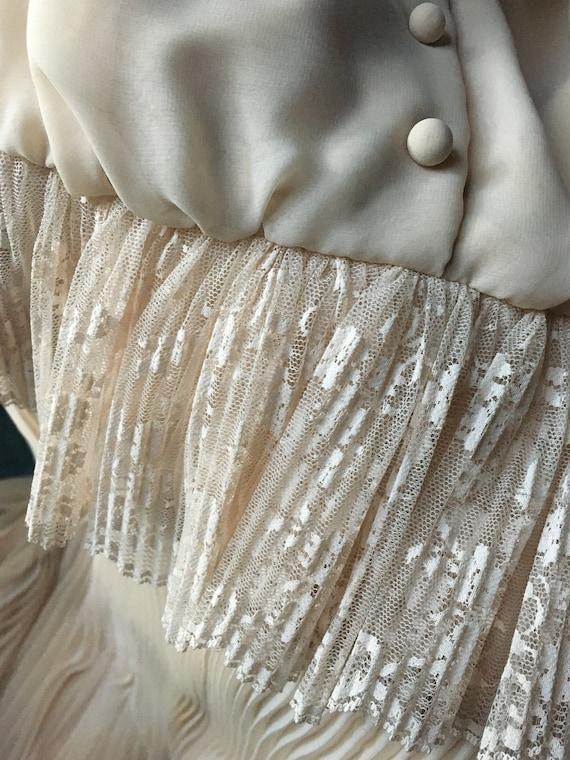 Vintage Bohemian Victorian  Dress
