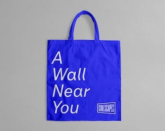 A Wall Near You (Cinescapes) Tote Bag