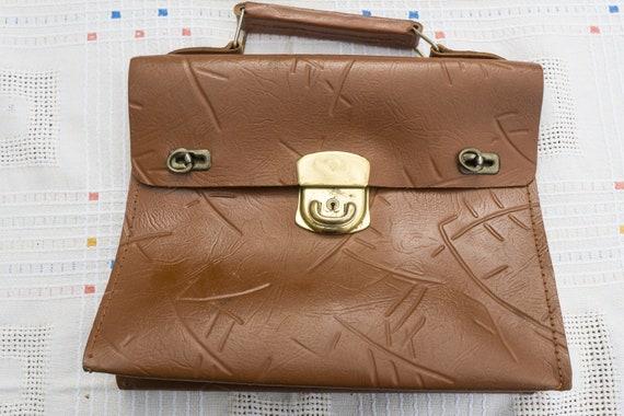 Briefcase, briefcase, vintage, Midcentury 1950s, c