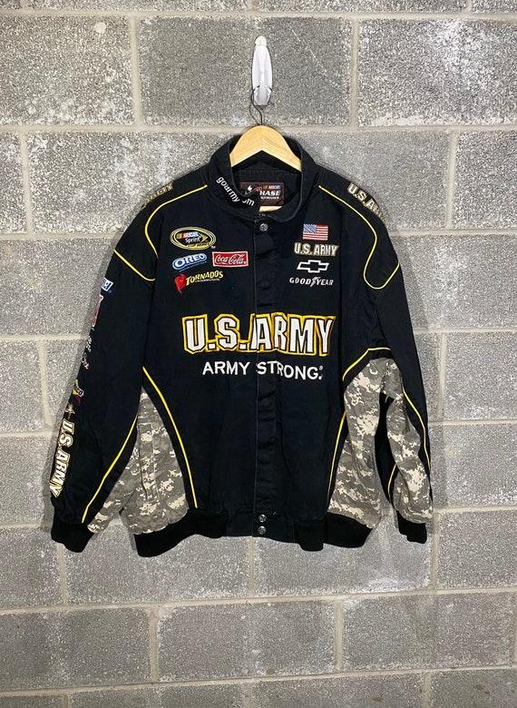 Ryan Newman U.S. Army NASCAR Crew Uniform Jacket