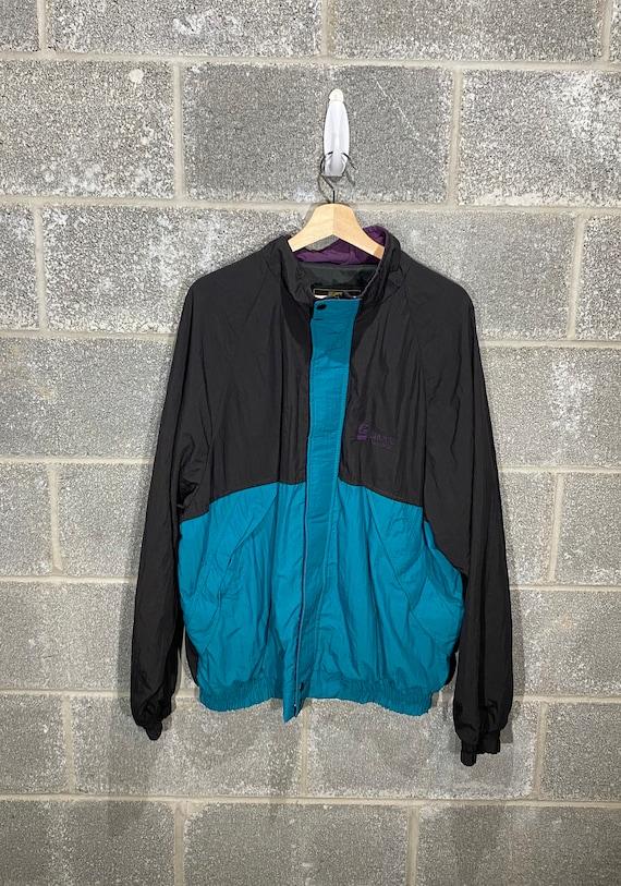 Vintage 1990s Green Purple Black Grove Worldwide W