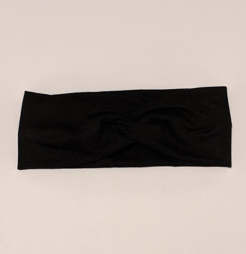 Black Turban Knot