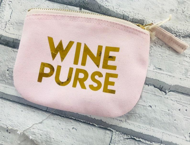 Wine Purse Gin Purse Small Coin Purse