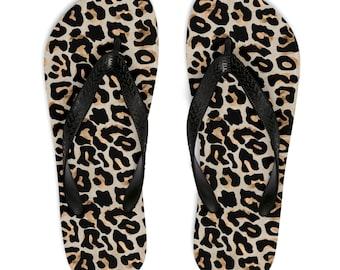 bebe84940525fc Cheetah Print Flip Flops