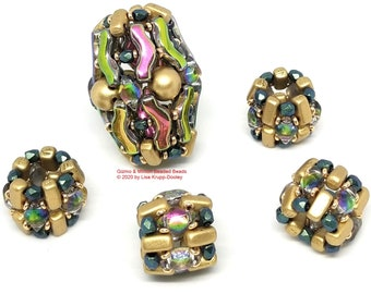 The Gizmo & Minion beaded beads pattern