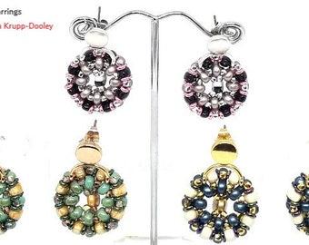 Tilt-A-Whirl earrings pattern