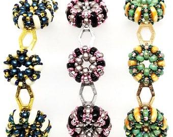 Tilt-A-Whirl bracelet pattern