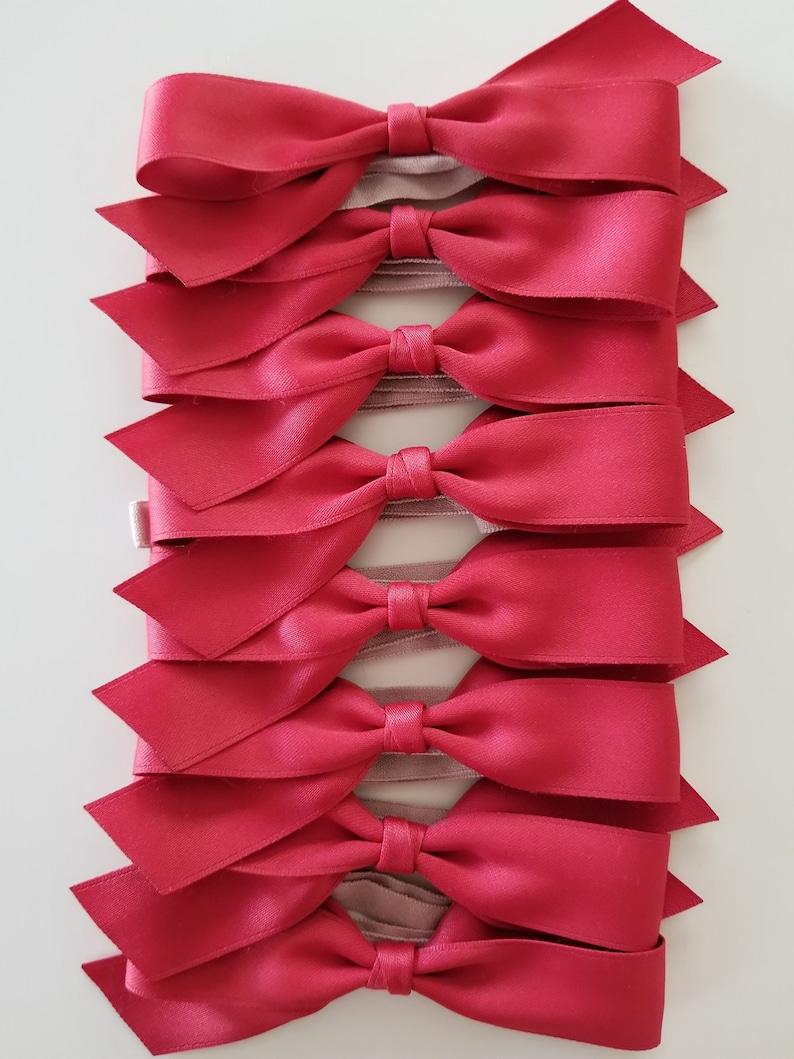annapetitco style Evie BabyToddler Headband  Matching Sister Headbands 4 Strawberry Red Bow
