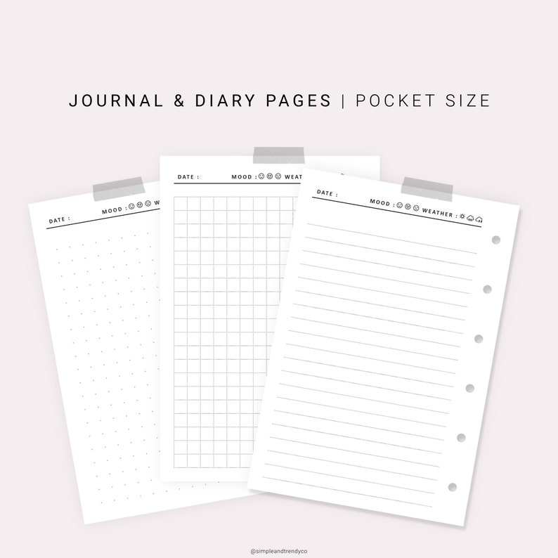 picture regarding Travel Journal Printable known as Printable Diary Web pages, Generate Magazine Pocket sizing, Crafting Magazine Blank Magazine, Push Diary, Printable Magazine Diary Template