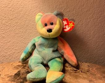 Garcia Beanie Baby w  Errors  Rare Find  ea169a0e37c