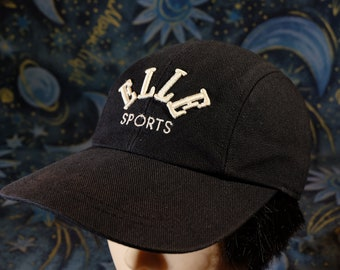 8f793bbb1a7098 Black Color Cap And White ELLE Women Cap Summer Cap Minimal Cap Can  Adjustable Size Good Condition From Elle Sport