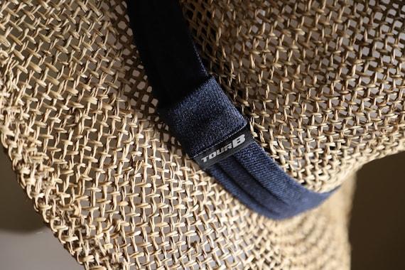 Straw Hat Fedora Sun Hat 57-59 cm. Summer Hat - image 4