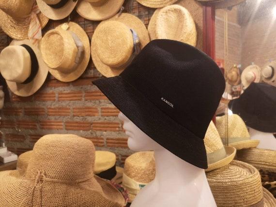 Bucket hat kangol hat black hat
