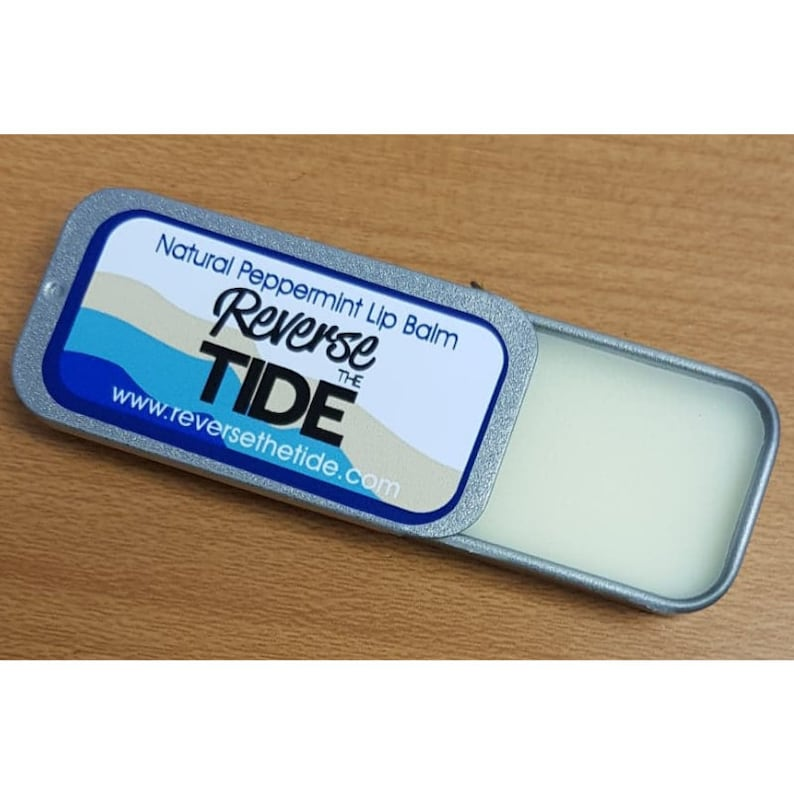 Reverse The Tide Peppermint Lip Balm image 0