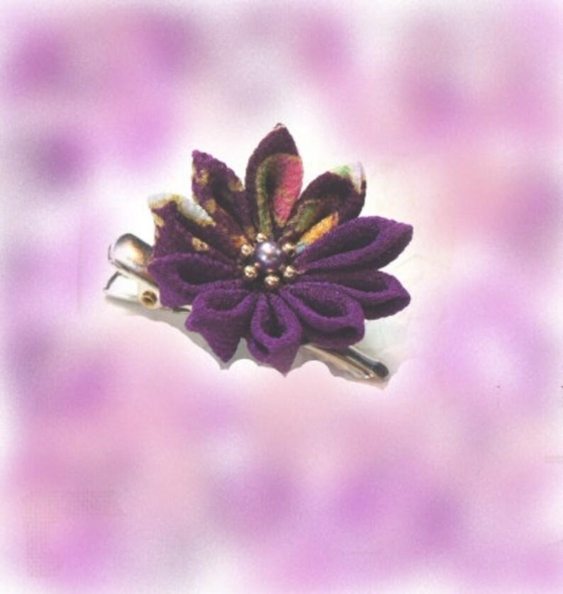 Hanashigoto Flower Japanese craft Tsumami -Crafts Brooch DIY KIT Kanzashi Kit