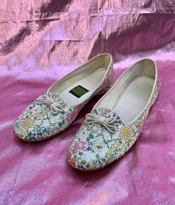 Vintage 1950 1960 Daniel Green Comfy Slippers Spar