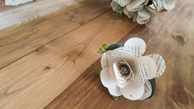 Grooms Boutonniere Book Flower Wedding Bouquet and Boutonniere Book Rose Book Theme Bridal Bouquet Book Bouquet Book Boutonniere
