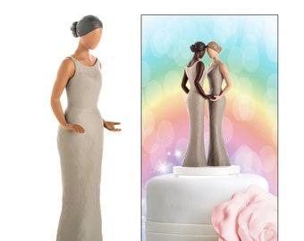 726aae671325 Lesbian Wedding Cake Topper