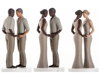 681f9b769ec1 Wedding Cake Toppers Bride and Groom