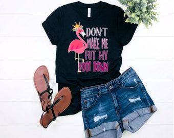a3c100c9 Motherhood shirt, Mom Shirt, Flamingo Mama,Funny Mom Tshirts, Mom saying  shirt, Mom gift shirt, Flamingo Shirt, Mommy shirts, mothers day