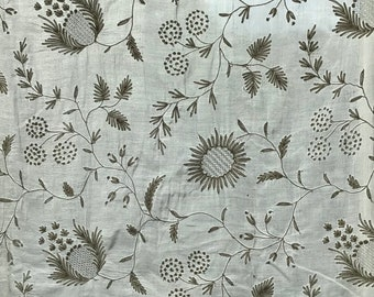 Fabulous antique piece of fabric, totally hand made