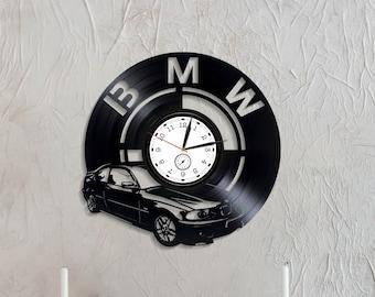 Horloge Murale Bmw Etsy
