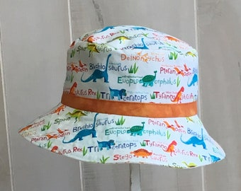 507a1d52378 Boys dinosaur bucket hat